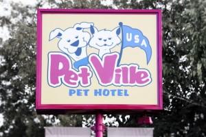 Petville Sign